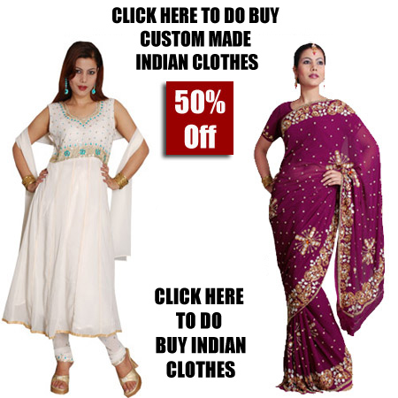 Custom Made Indian Clothes