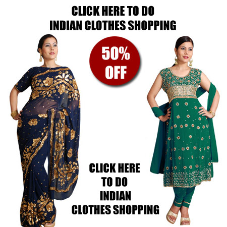 Indian Clothes Shopping