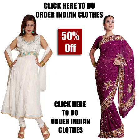 order indian clothes