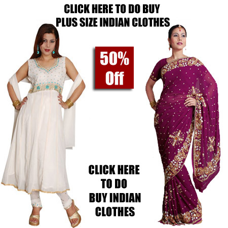 Plus Size Indian Clothes