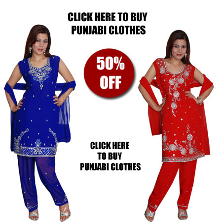Dress Online Shopping on Punjabi Clothes   Buy Punjabi Clothes From Our Online Shop In India