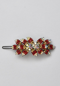 Red & Golden Hair Slide