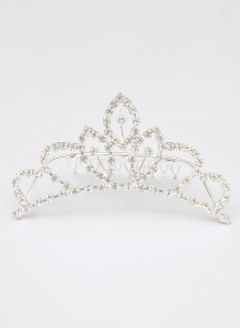 Crown Hair Comb Tiara for Weddings, Proms, Pageants