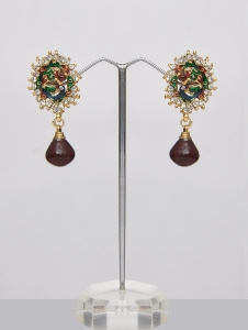 Peacock Earrings Indian