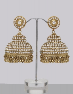 Very Large Jhumka Earrings