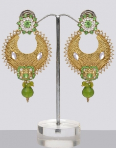 Polki Earrings Online