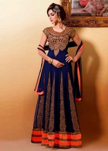 Floor Length Designer Anarkali Suit
