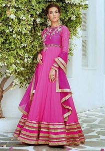 Pink Party Anarkali Suit Online