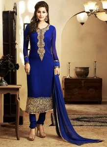 Long Kameez Churidar Suit