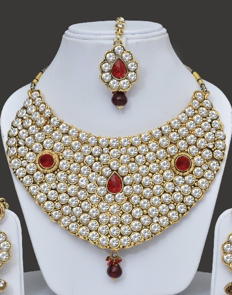 Shining Heavy Jewellery Set India Online Shopping