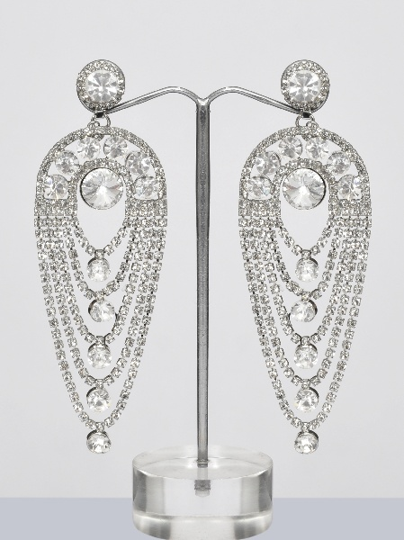 Silver chandelier earrings online shopping shop for great silver chandelier earrings mozeypictures Image collections