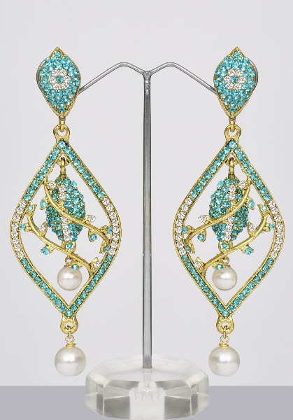 Peacock Jewelry Set With Meenakari Amp Stones Online
