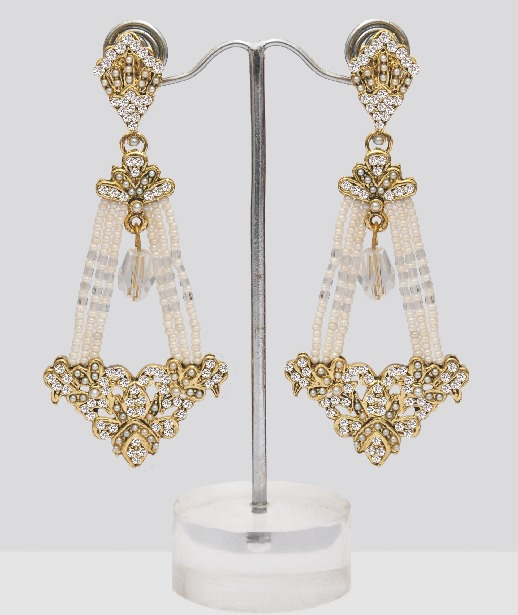 Pearl Chandelier Earrings : Online Shopping, - Shop for great ...