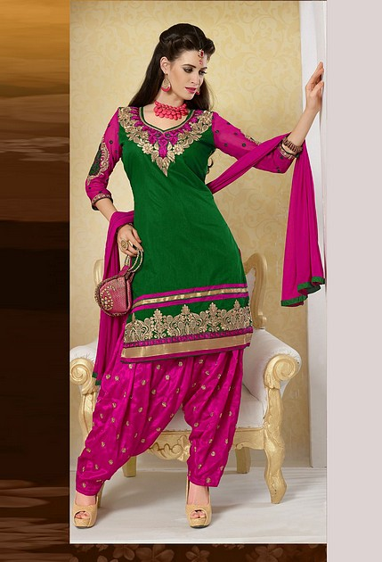 Patiala dress for wedding